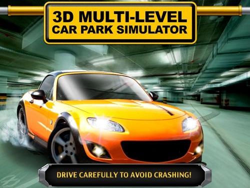 Обзор Multi-level car park. Учимся парковаться