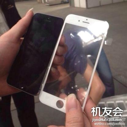 В Сети появились снимки аккумулятора и фронтальной панели iPhone 6