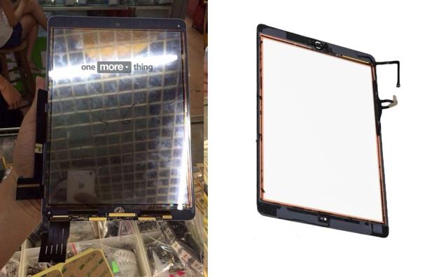 Дисплейная панель iPad Air второго поколения засветилась на фото