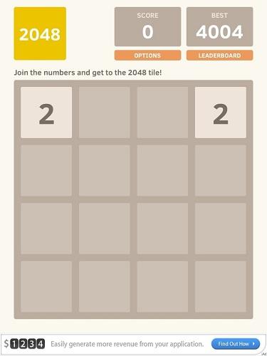 Обзор 2048. Работаем головой