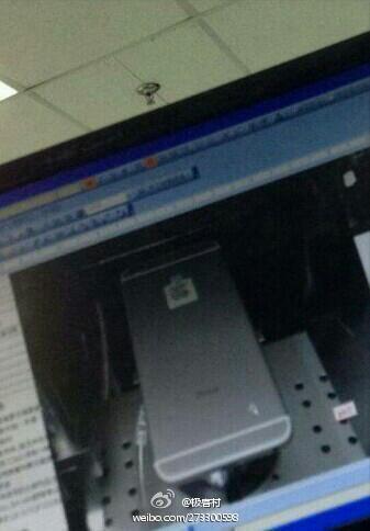 Первые живые фотографии корпуса iPhone 6