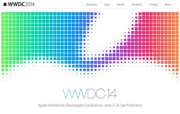 Apple анонсировала конференцию WWDC 2014