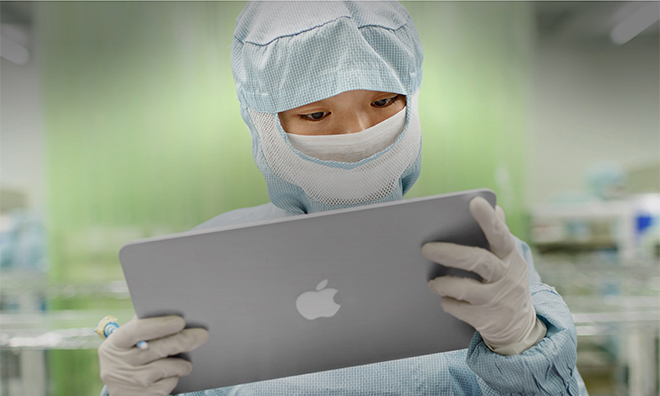 Апрель был особенно удачен для Apple — поставщики