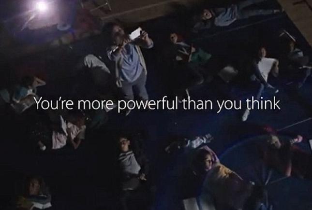 Американский художник обвинил Apple в краже слогана «You're more powerful than you think»