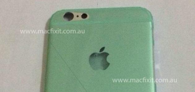 Фото задней крышки 4,7-дюймового iPhone 6
