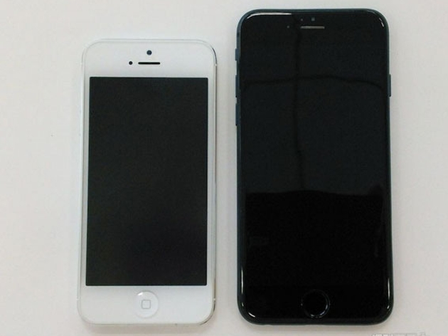 iPhone 6 сравнили с iPhone 5s, iPad Air, Galaxy Note 3 и LG G3