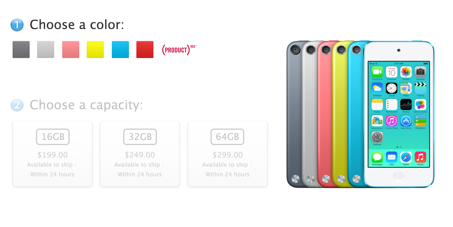 Apple снизила цены на iPod touch