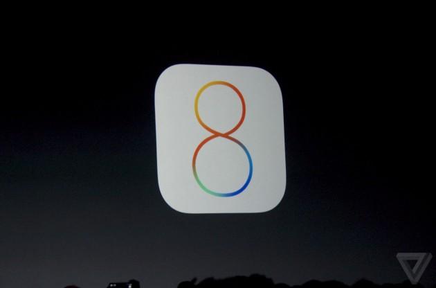 [WWDC 2014] Apple представила iOS 8