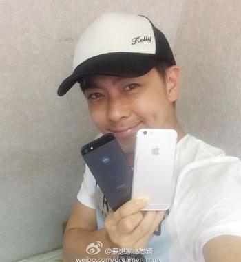 Тайваньский актёр поделился фотографиями iPhone 6