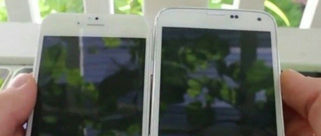 iPhone 6 сравнили с Samsung Galaxy S5