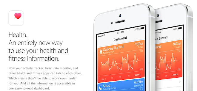 Apple запускает CareKit платформу с поддержкой четырех приложений