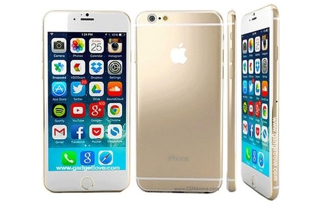 Создана 3D-модель iPhone 6