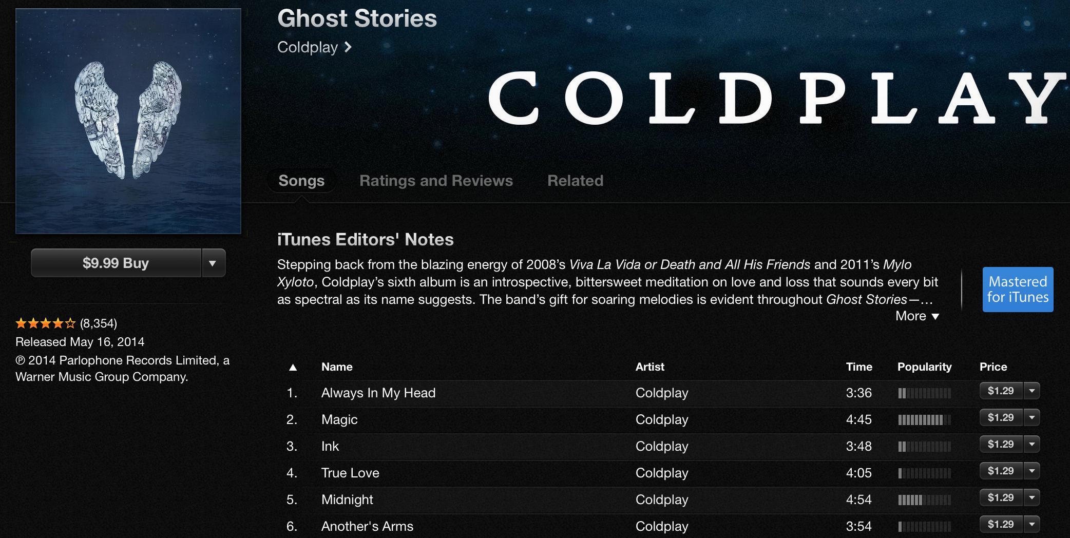 [Конкурс] Дарим новый альбом Coldplay!