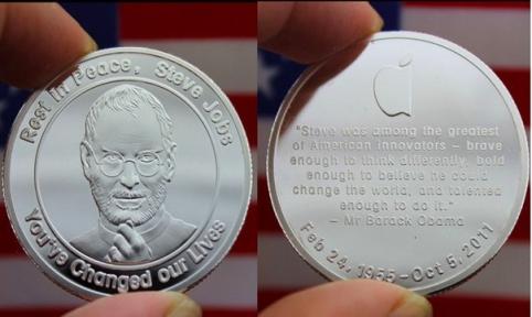 [Видео] Обзор монеты «Стив Джобс»
