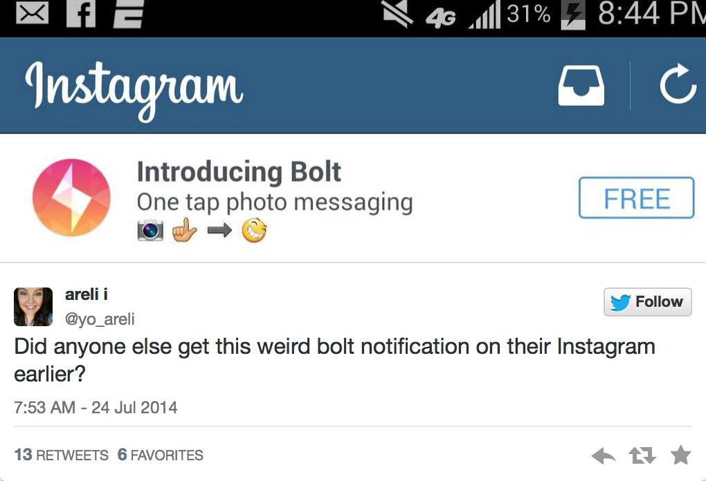 Instagram случайно показал свое новое приложение