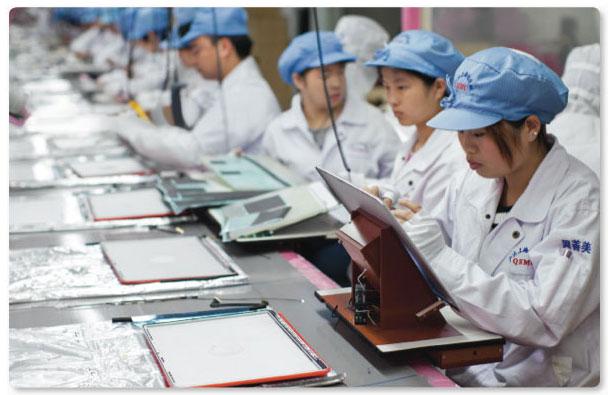 Складывать iPhone 6 будут роботы Foxbot от Foxconn