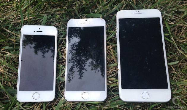 5,5-дюймовый iPhone 6 выйдет позже 4,7-дюймовой модели