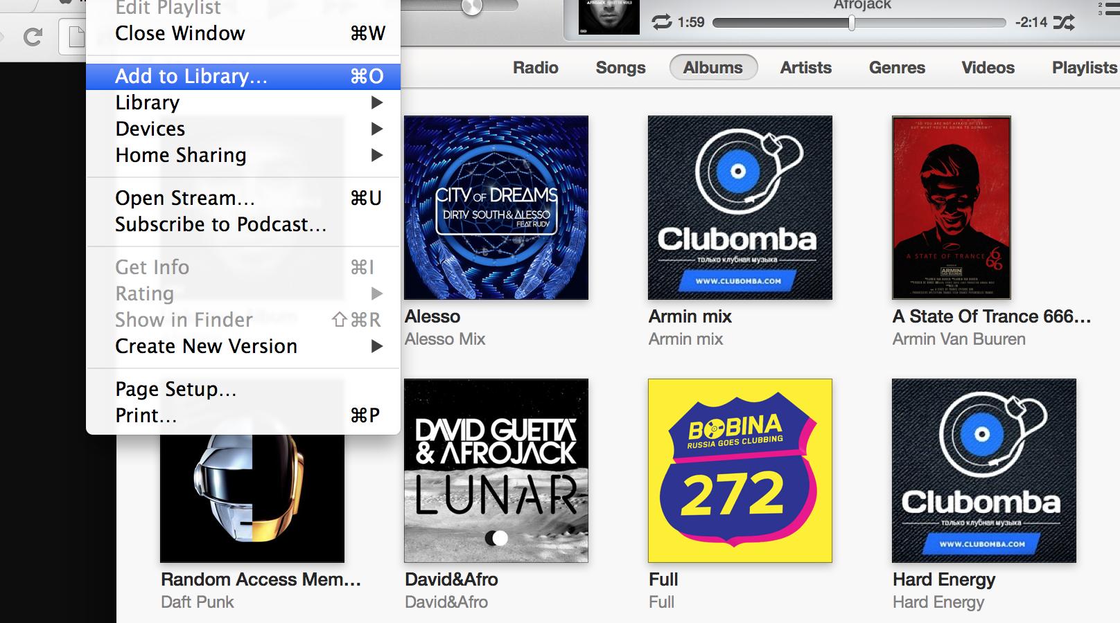 Как загрузить музыку с iTunes на iPhone
