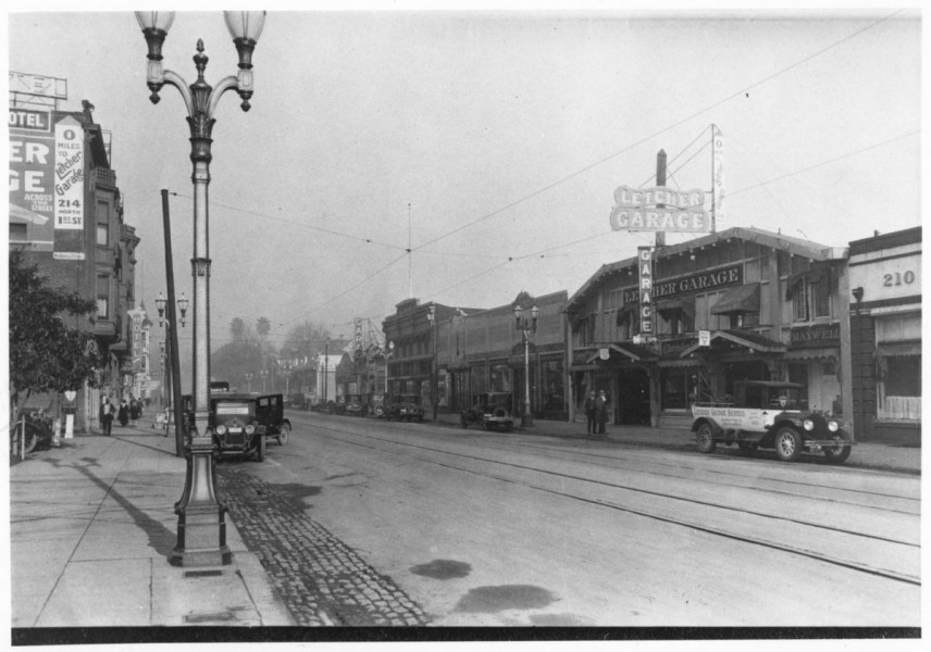 slowly-but-surely-the-santa-clara-valley--and-san-jose-in-particular--started-to-grow-letcher-garage-seen-on-the-right-side-of-the-photo-was-where-local-residents-could-buy-their-cadillacs-and-packards