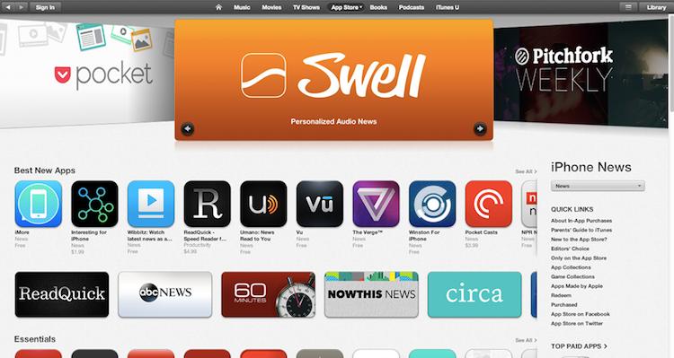Apple приобрела сервис Swell