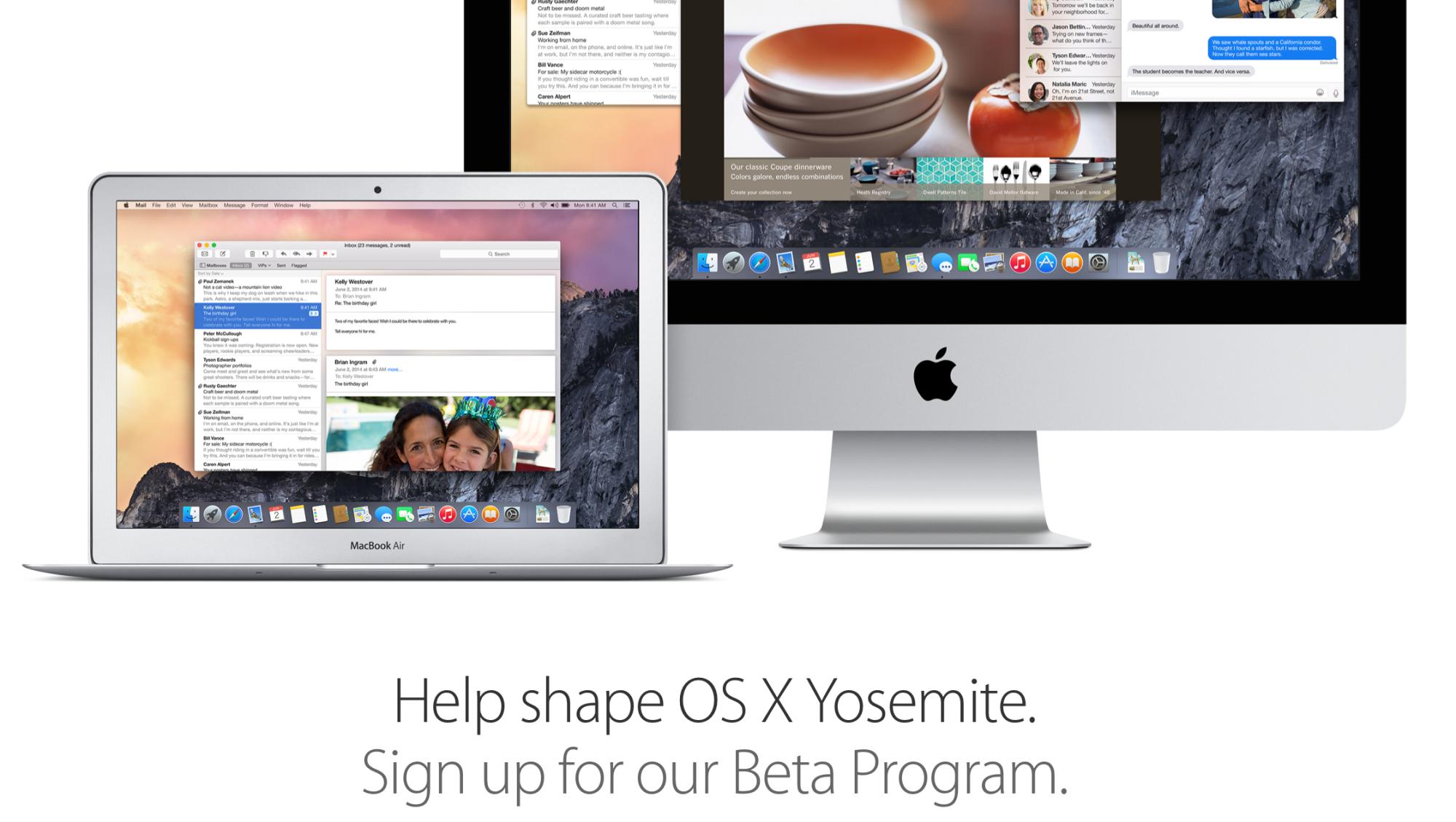 Сегодня выйдет OS X Yosemite для подписчиков beta-версии