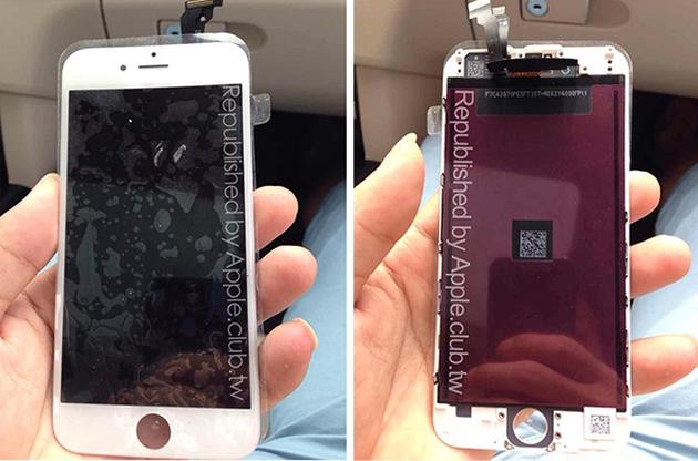 Дисплейная панель iPhone 6 на фото
