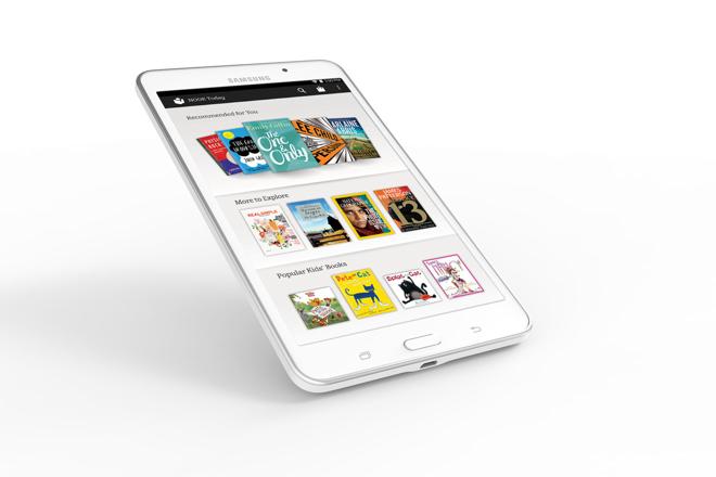 Barnes & Noble вместе с Samsung выпускает планшет