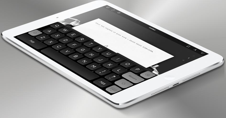 Том Хенкс выпустил «печатную машинку» для iPad