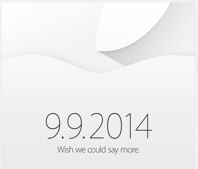 Презентация Apple состоится 9 сентября