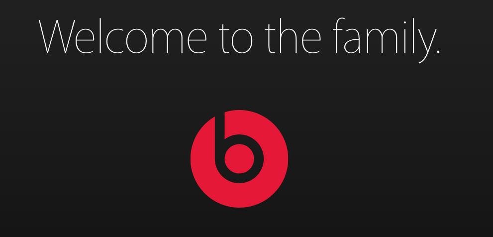Привет Beats: официальное приветствие