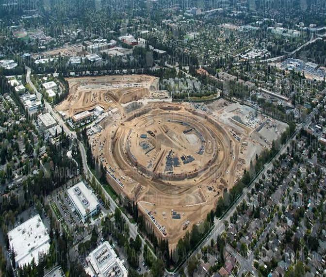 Новые фото Apple Campus 2 появились в сети