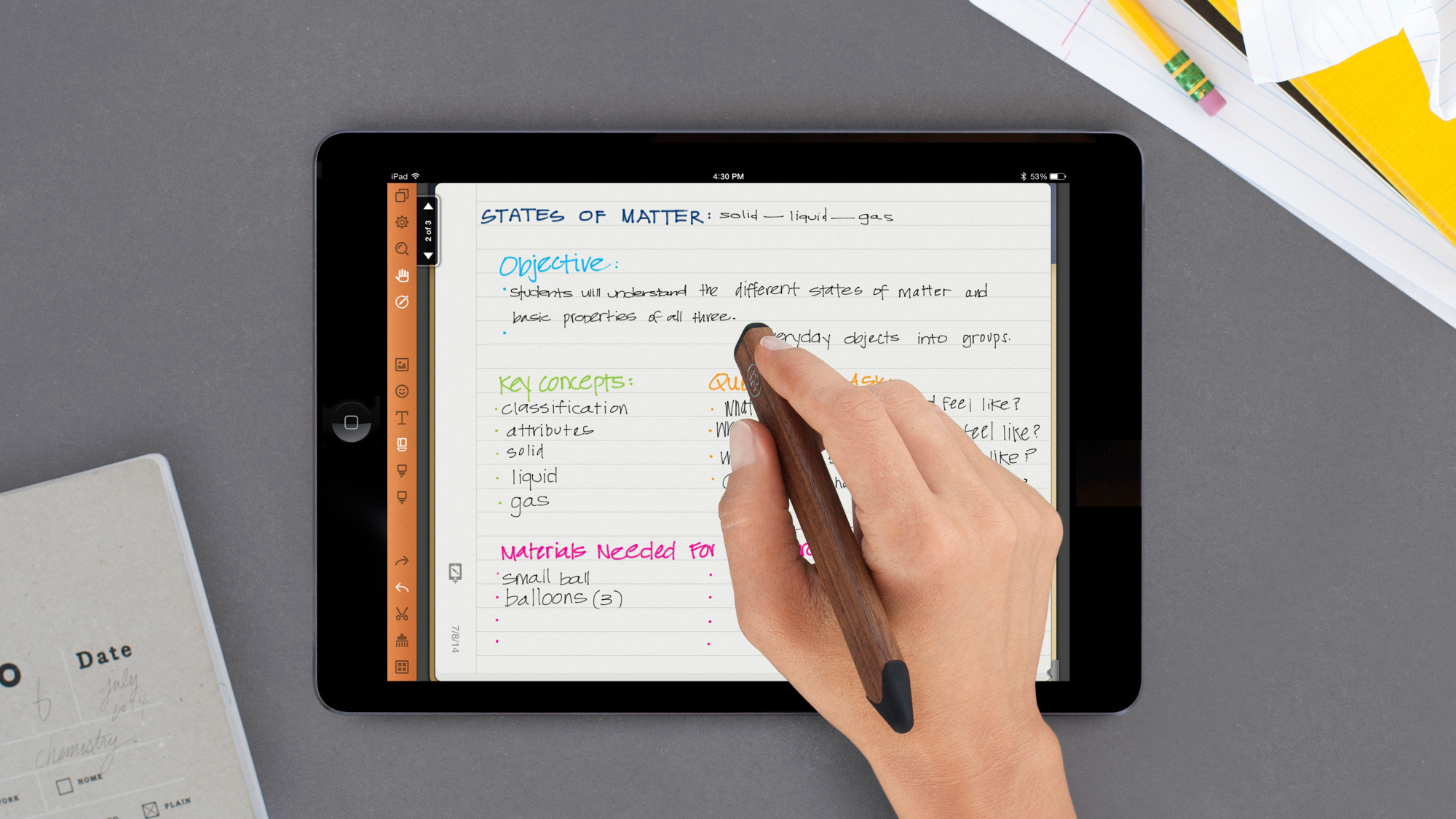 best handwriting app for ipad Penultimate comes from the developers of the famous note taking app called evernote the app aims to help you make your handwriting the best on your ipad with the app on your device, you can write and draw distract free and have full control over whatever you are doing on the screen.