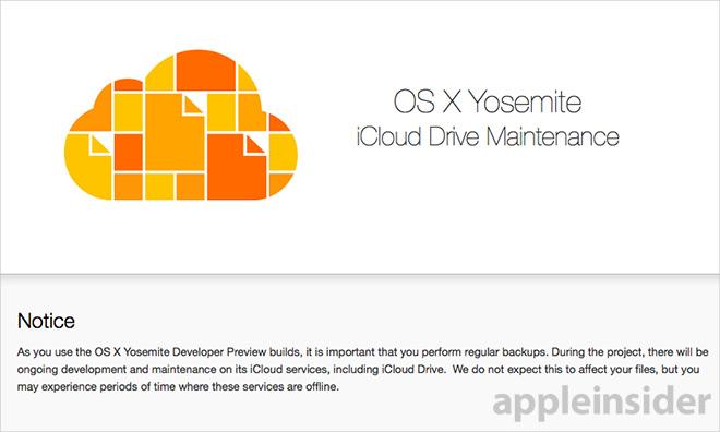 Apple предупредила пользователей о возможной потери данных в  iCloud Drive