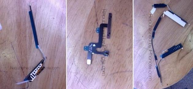 Фото компонентов нового iPad Air