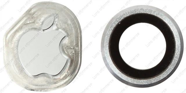 Фото логотипа, кольца камеры и других компонентов iPhone 6