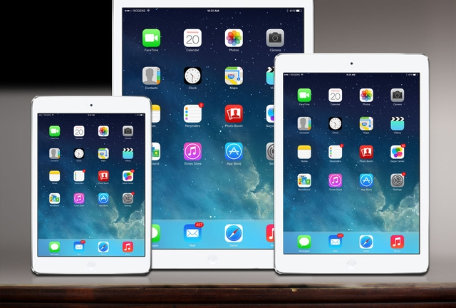 В начале 2015 года стартует производство iPad Pro