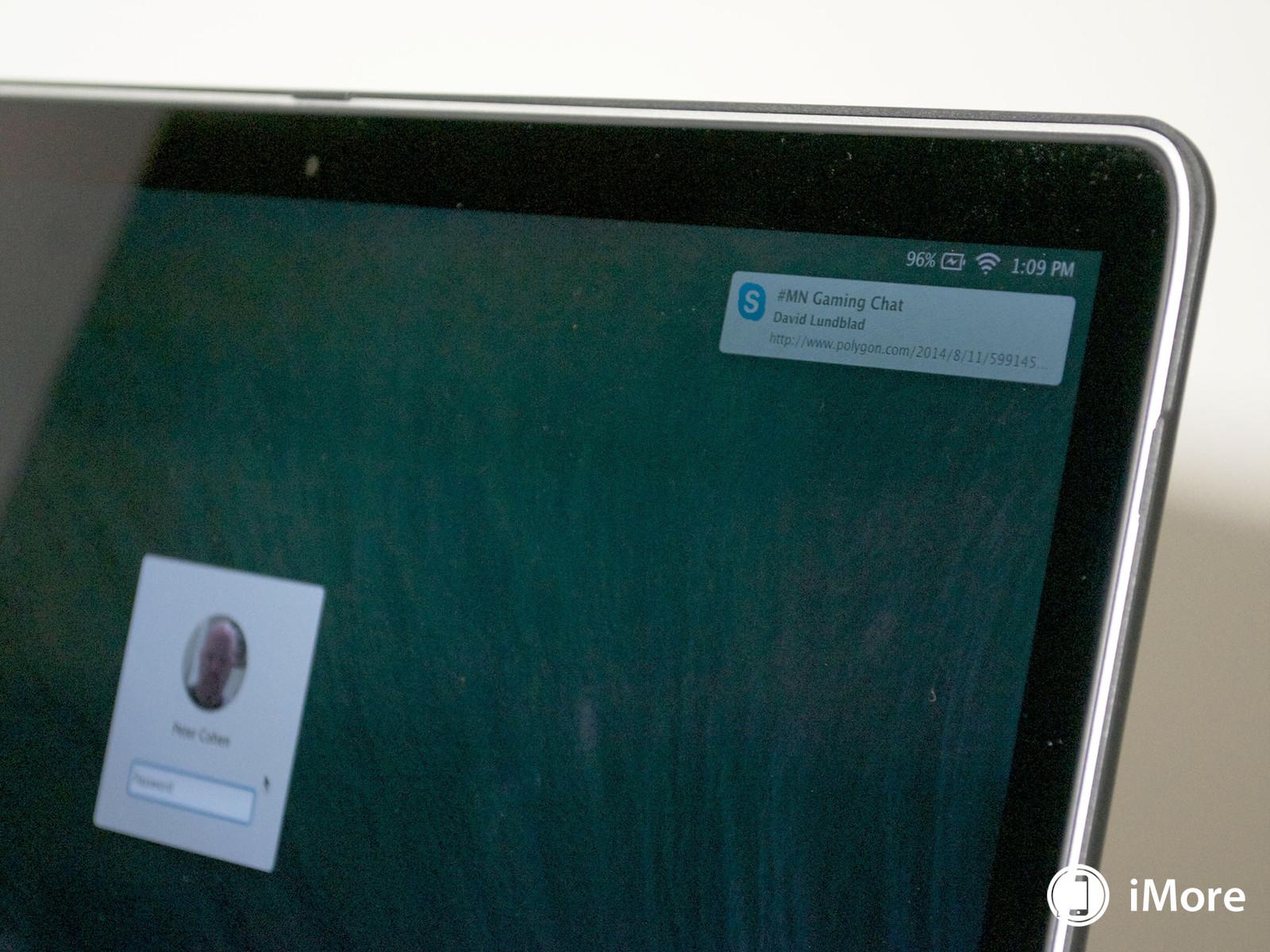 Как отключить уведомления на заблокированном экране Mac
