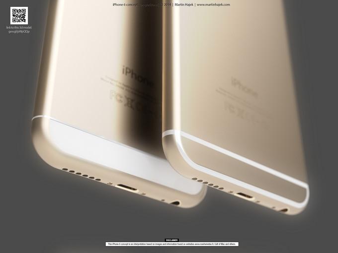 Рендеры iPhone 6 в двух вариантах