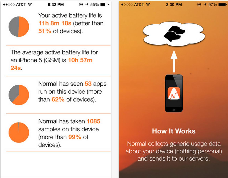 Сохранить запас батареи — приложение Normal