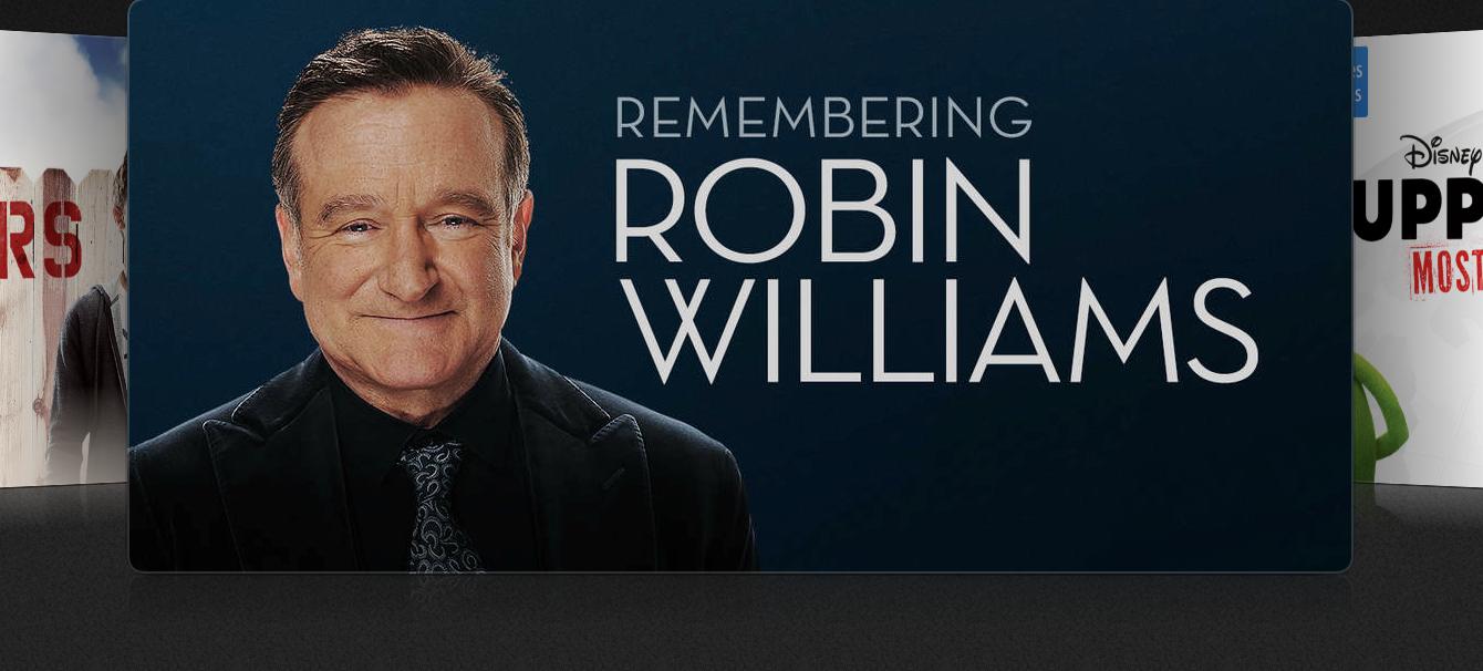 На сайте Apple и в iTunes почтили память Робина Уильямса