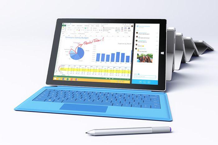 Microsoft создала серию роликов Surface 3 и MacBook Air