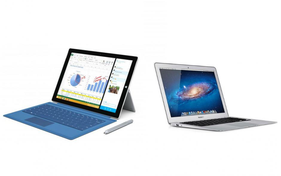 Новый вектор: Surface против MacBook Air