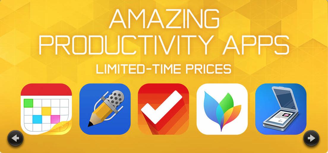 В App Store распродажа приложений для повышения продуктивности