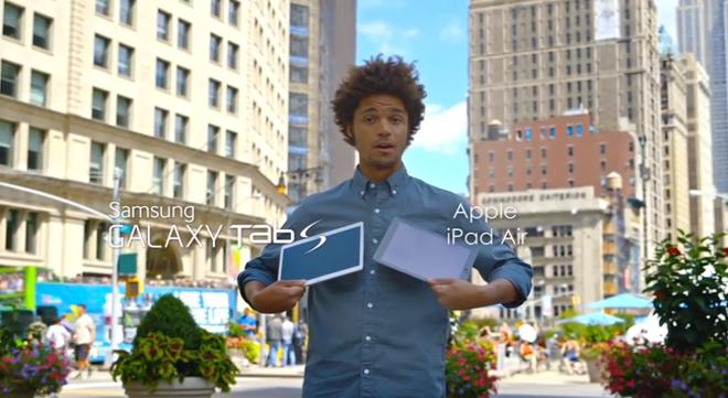 Какая неожиданность: новая реклама от Samsung с очевидным уклоном