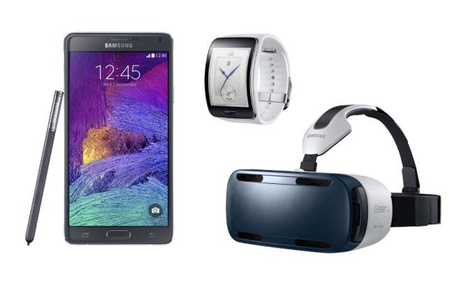 Samsung представила смартфон с изогнутым дисплеем