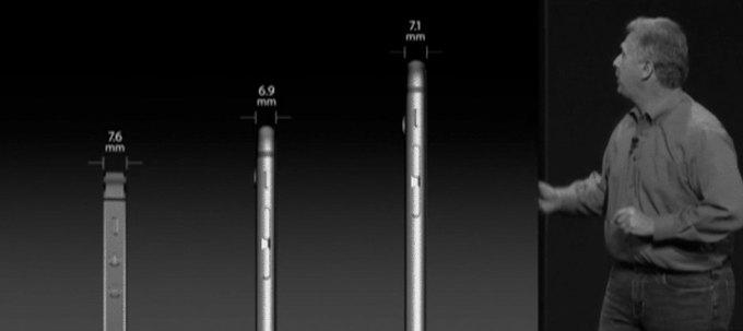 Apple использовала оптический обман во время презентации iPhone