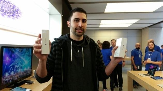 Калифорнийский блогер стал первым покупателем iPhone 6