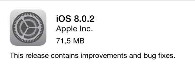 Ход конем: Apple выпускает iOS 8.0.2