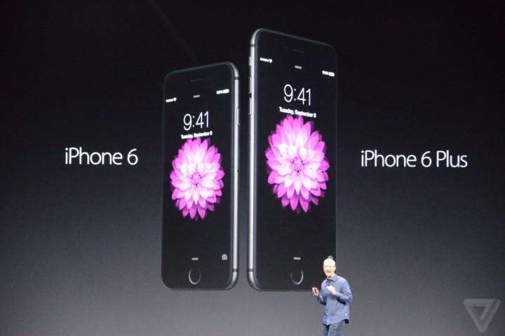 Apple показала новые iPhone 6 и iPhone 6 Plus
