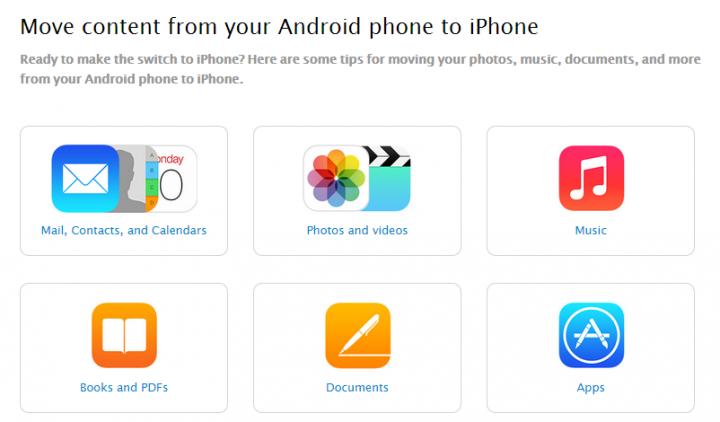 Выбери меня: Apple рассказала о переходе с Android на iOS